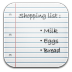 72x72px size png icon of Shopping list