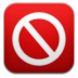 72x72px size png icon of adblock