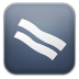 72x72px size png icon of bacon Reader