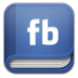 72x72px size png icon of book facebook
