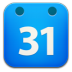 72x72px size png icon of calender google