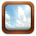 72x72px size png icon of gallery frame sky