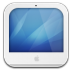 72x72px size png icon of imac white