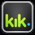 72x72px size png icon of kik Messenger