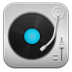 72x72px size png icon of music Record Player Blue