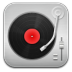 72x72px size png icon of music Record Player Red