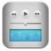 72x72px size png icon of music itunes blue