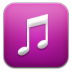 72x72px size png icon of music purple