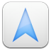 72x72px size png icon of navigation