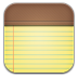 72x72px size png icon of notepad