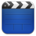 72x72px size png icon of videos blue