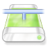 72x72px size png icon of drive green network