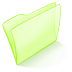 72x72px size png icon of folder green normal
