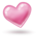 72x72px size png icon of heart 2
