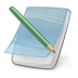72x72px size png icon of note edit