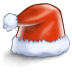 72x72px size png icon of santa hat