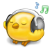 72x72px size png icon of software songbird