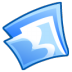72x72px size png icon of Folder blue