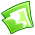 72x72px size png icon of Folder green