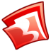 72x72px size png icon of Folder red
