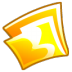 72x72px size png icon of Folder yellow