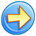 72x72px size png icon of Forward