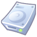 72x72px size png icon of Hard disk