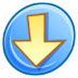 72x72px size png icon of Down