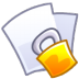 72x72px size png icon of Lock file