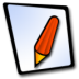 72x72px size png icon of doc redpen