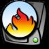72x72px size png icon of harddrive cdrom burner