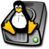72x72px size png icon of harddrive linux