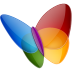 72x72px size png icon of Papillon MSN
