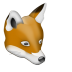 72x72px size png icon of Renard
