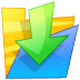 72x72px size png icon of Folder down
