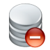 72x72px size png icon of data remove