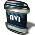 72x72px size png icon of File AVI