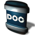 72x72px size png icon of File DOC