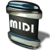 72x72px size png icon of File MIDI