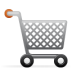 72x72px size png icon of shopping cart