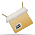 72x72px size png icon of box open