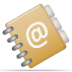 72x72px size png icon of address book
