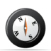 72x72px size png icon of compass