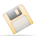 72x72px size png icon of disk