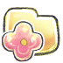 72x72px size png icon of G12 Folder Flower