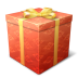 72x72px size png icon of gift