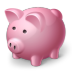 72x72px size png icon of piggy bank