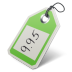 72x72px size png icon of price tag