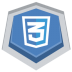 72x72px size png icon of CSS3