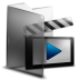 72x72px size png icon of Folder Movies